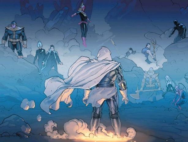 Marvel Super Heroes Awkward Silence