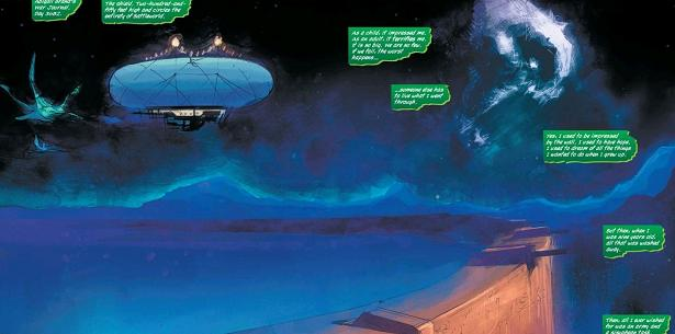 The breathtaking view of the severed head moon of Knowhere should really be in The Shield's recruitment literature...
