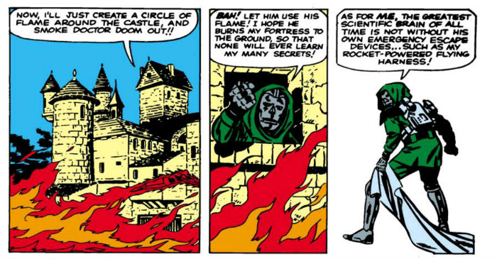 Doctor Doom Jet Pack