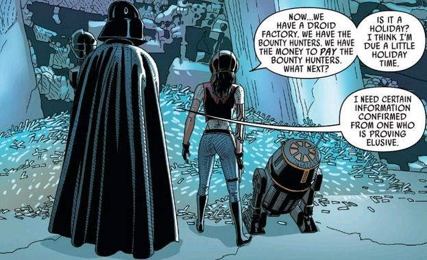 Aphra's next mission: contacting Scrooge McDuck for swimming through absurd sums of money lessons...