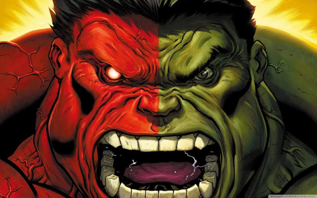 The Red Hulk Lives