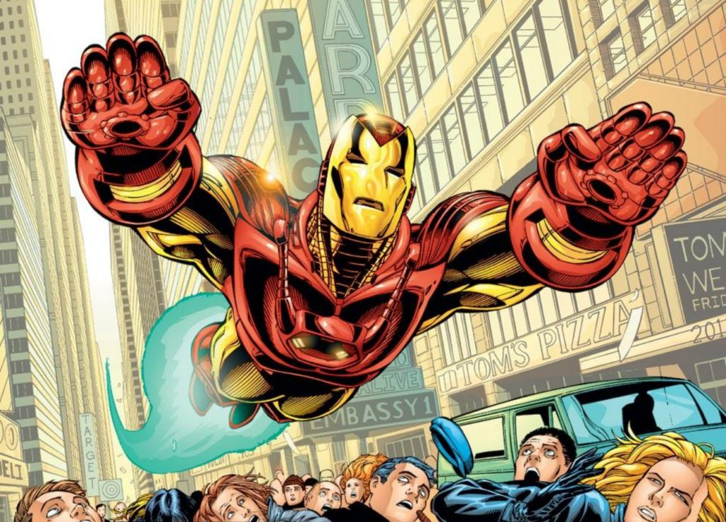 Iron Man by Sean Chen