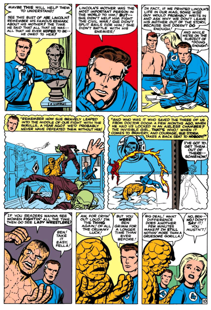 Reed Richards and Abe