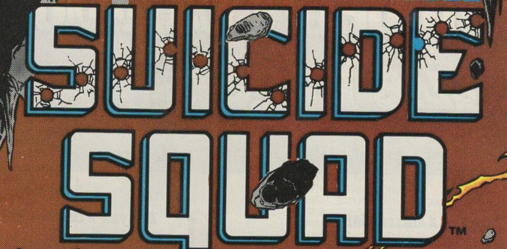 Suicide Squad comic book cover