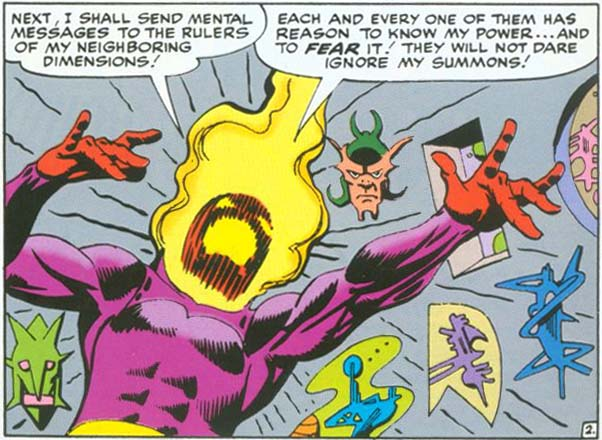 The Dread Dormmamu vs. Doctor Strange!