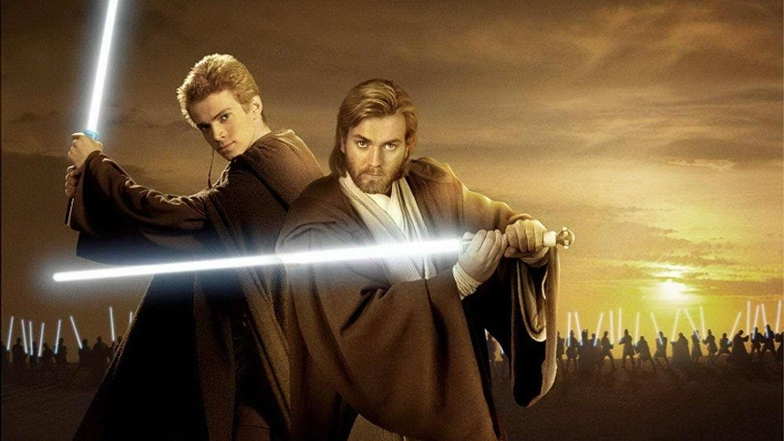 young obi wan and anakin skywalker