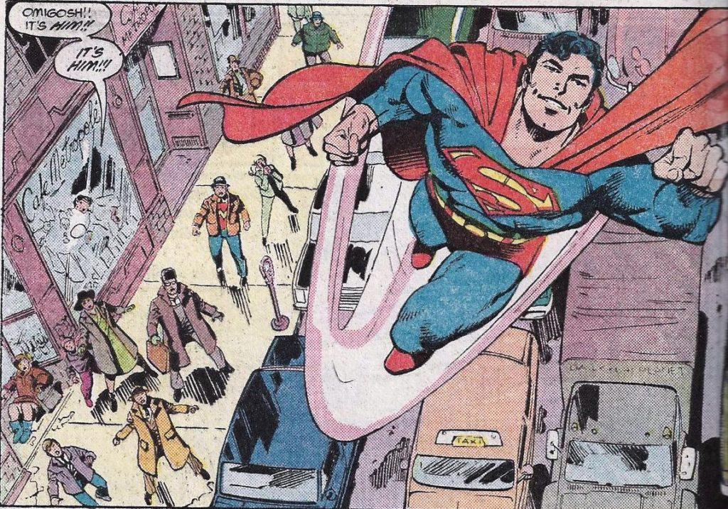 Man of Steel comic book Superman