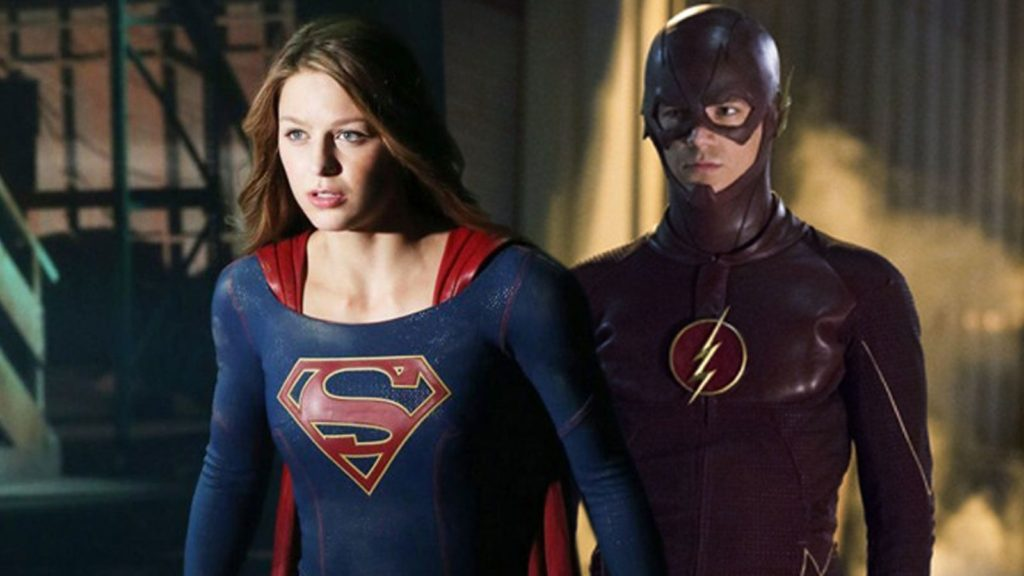 Flash and Supergirl crossover on tv