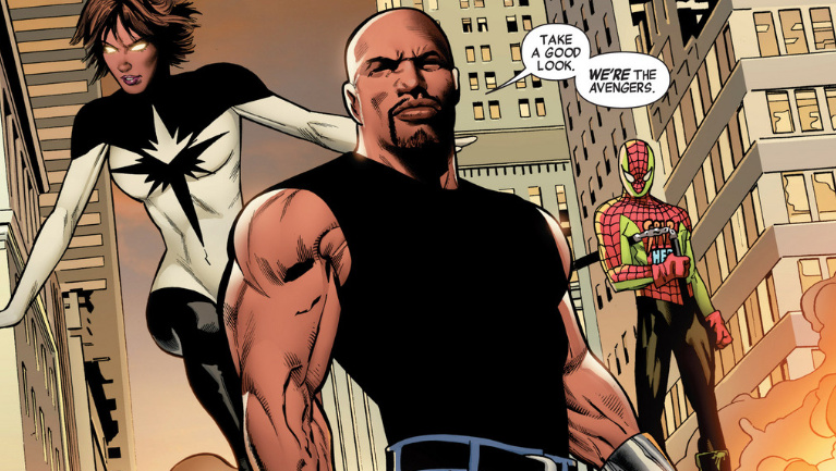 Luke Cage comic books!
