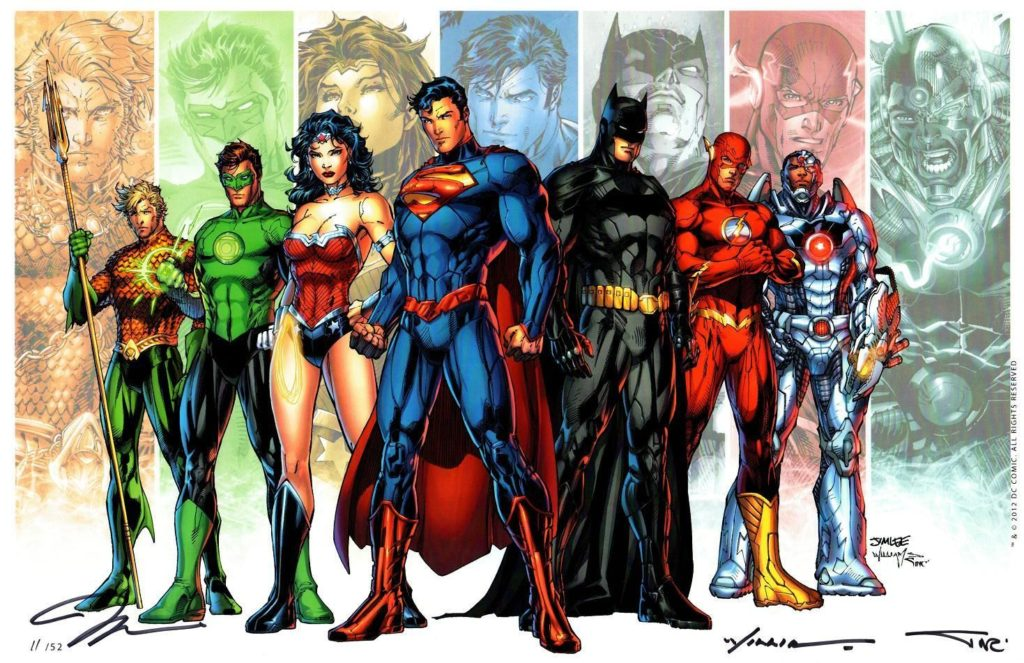 DC's New 52 Justice League