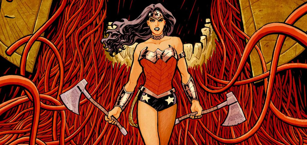 Wonder Woman in the new 52