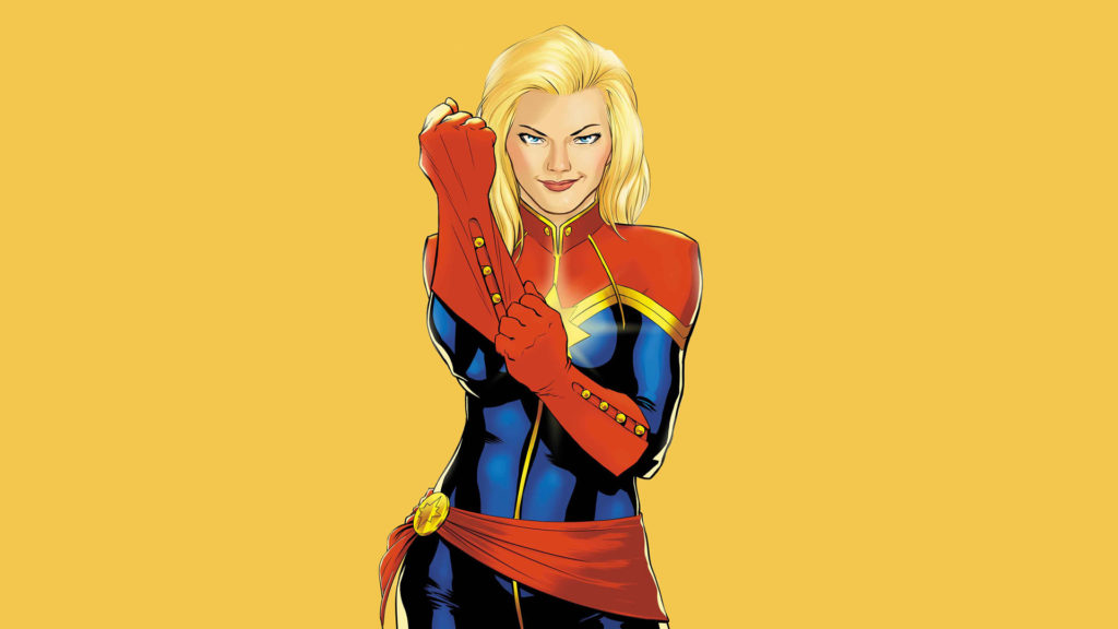 Carol Danvers as Captain Marvel
