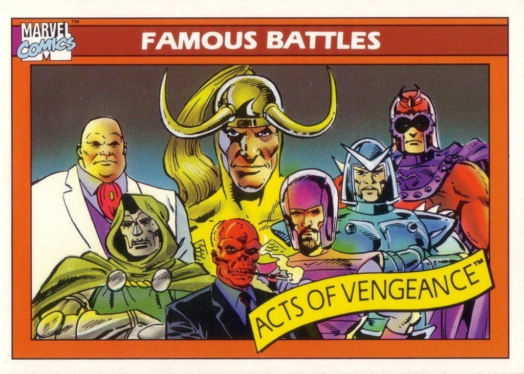 Villains acts of vengeance