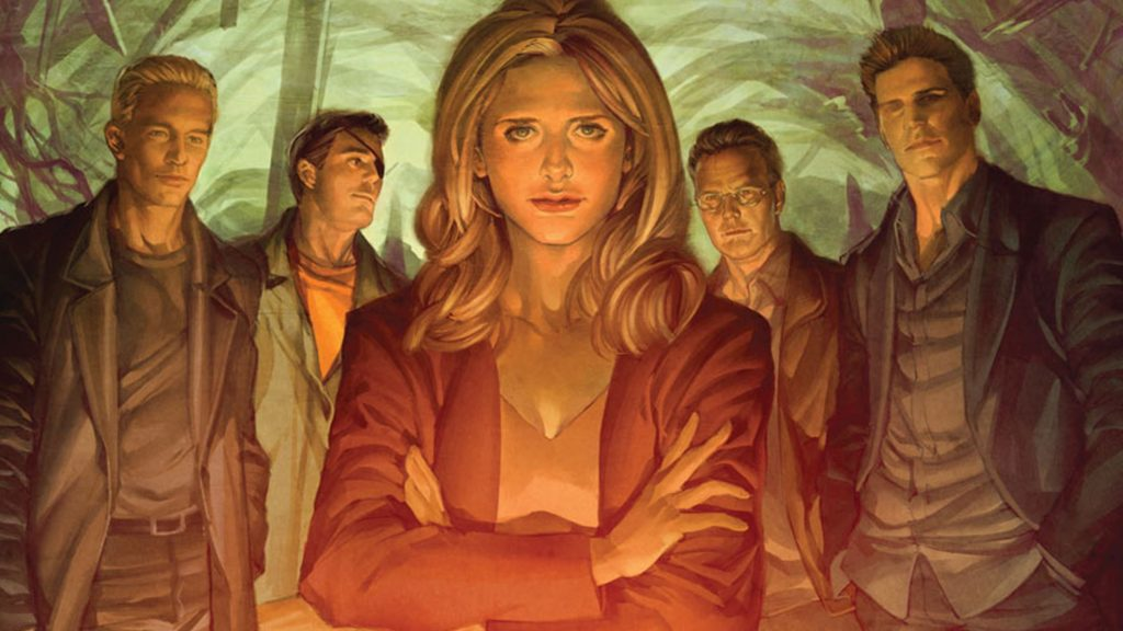 the buffy the vampire slayer comic book reading order