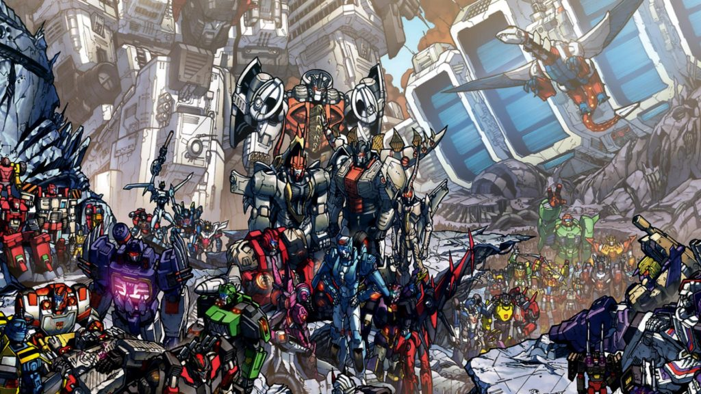Dark Cybertron transformers event