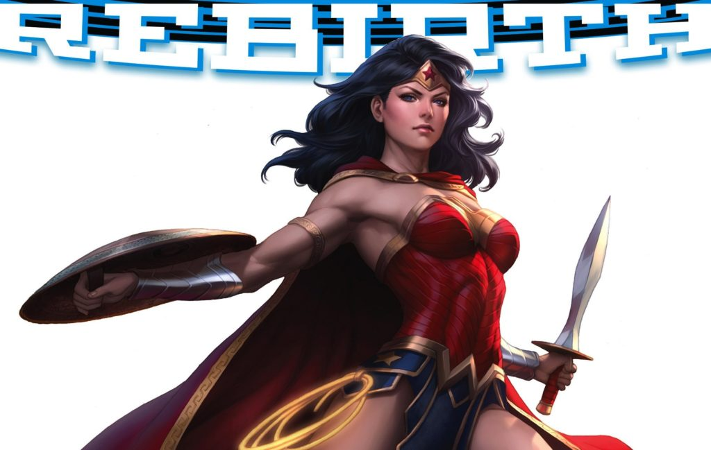 Wonder Woman Rebirth #1 from DC Comics