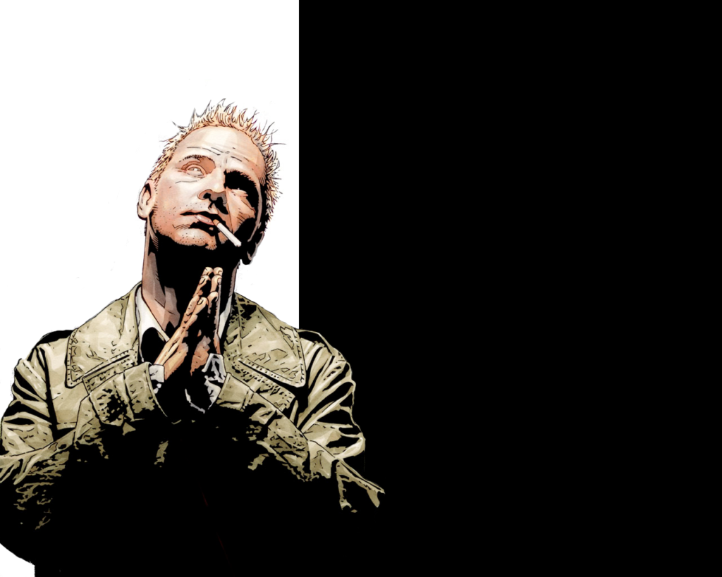 John Constantine has dangerous habits in his comics