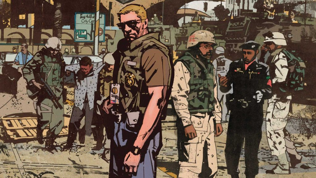 Tom King's sherrif of babylon from Vertigo Comics