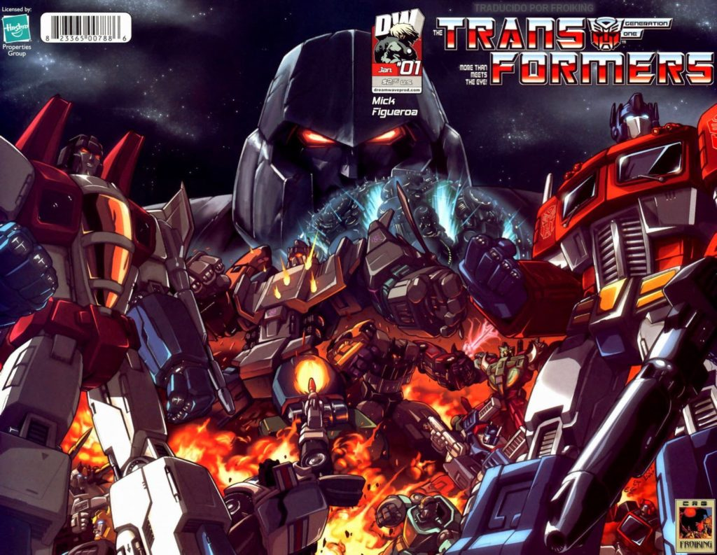 Transformers megatron comic books