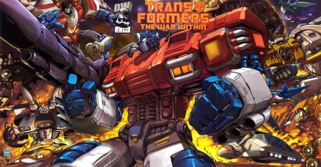 Transformers war within by Mike Costa