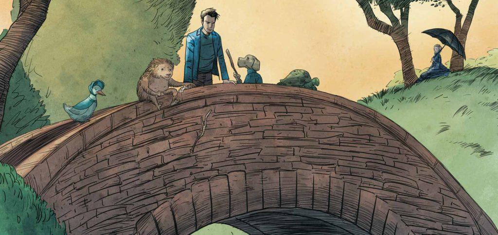 Unwritten Comic Book Series
