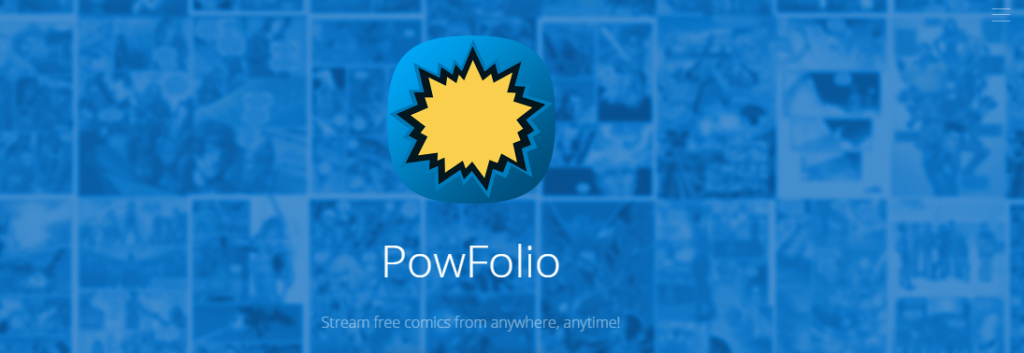 Powfolio digital comics app