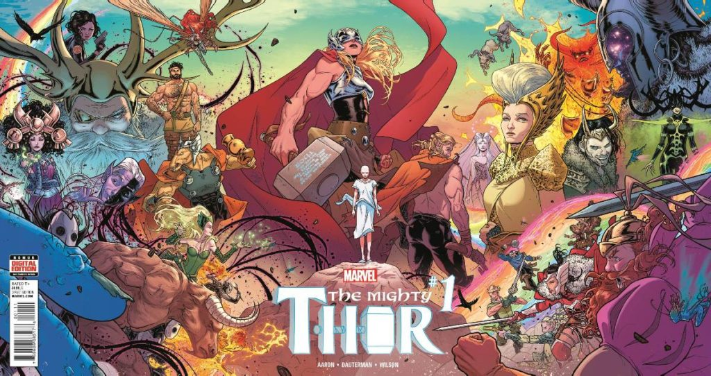Mighty Thor: Thunder in her Veins