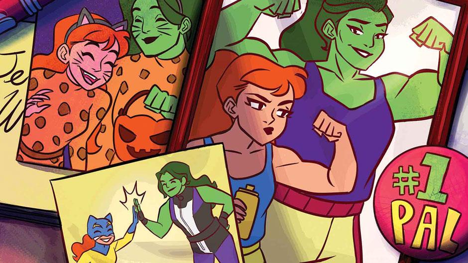 Marvel's Hellcat Comics