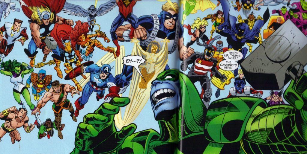 Maximum Security Marvel Crossover Event