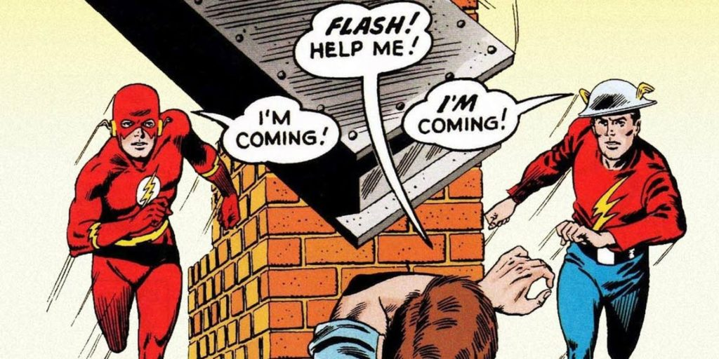 Flash of Two Worlds Comic Book