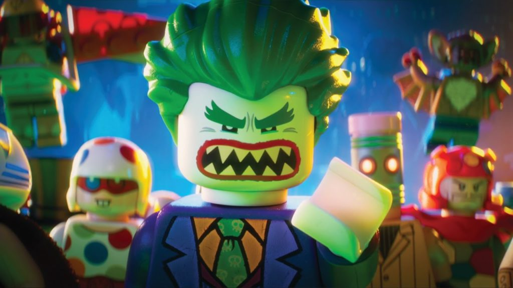 The Lego Batman villain Joker
