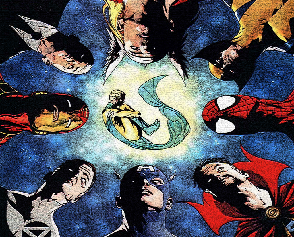 Marvel's the Sentry with art by Jae Lee