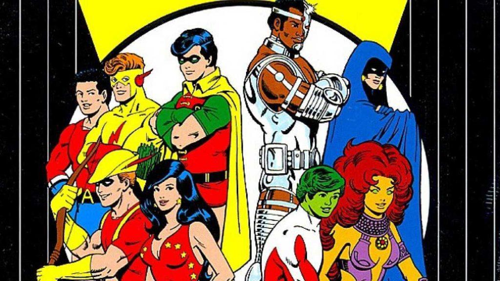 New Teen Titans Wolfman Perez