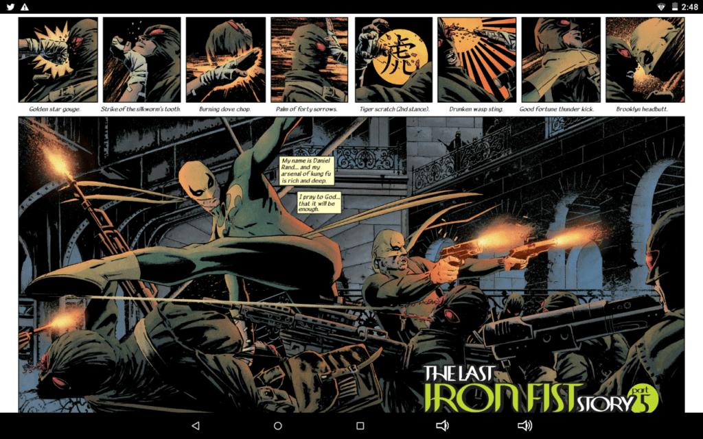 Iron Fist vs. Hydra