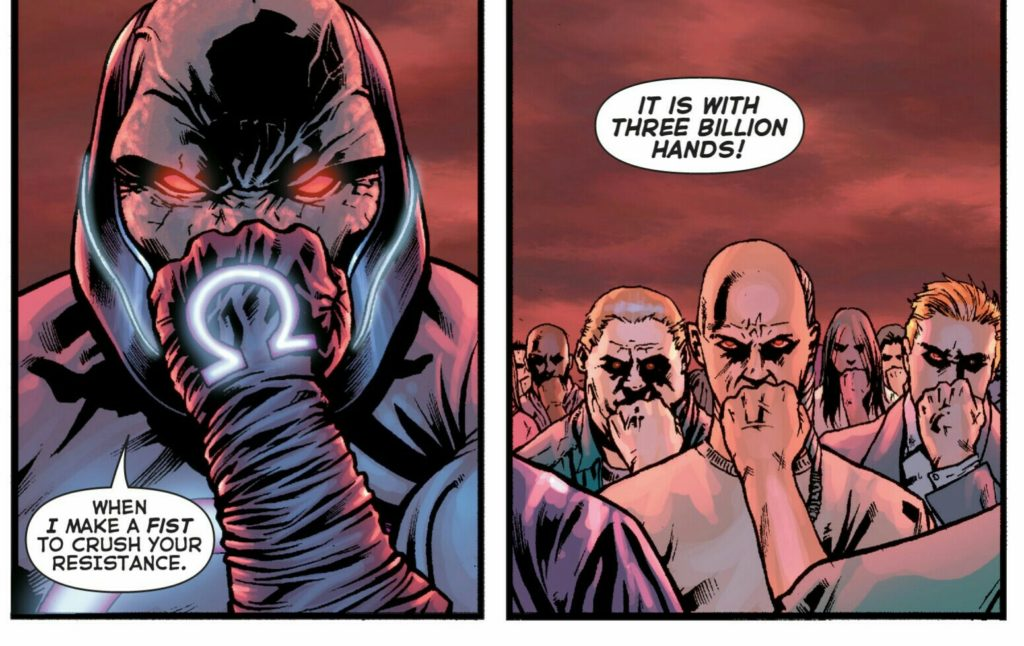 Darkseid takes over the DCU in Final Crisis