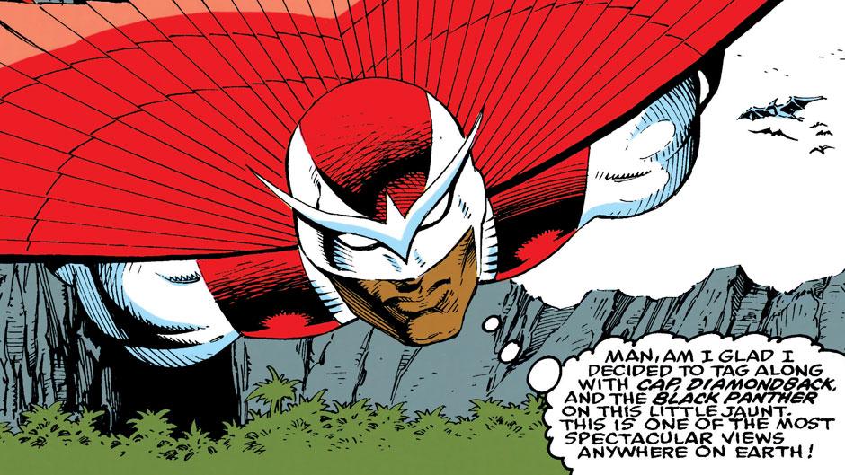 falcon in 90s marvel comics