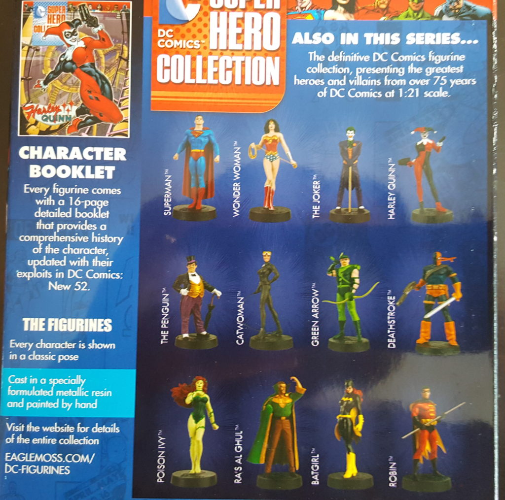 DC Super Hero Figurines