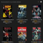 Kindle Unlimited For Comics Review! Is It Worth It? What's In The Library?