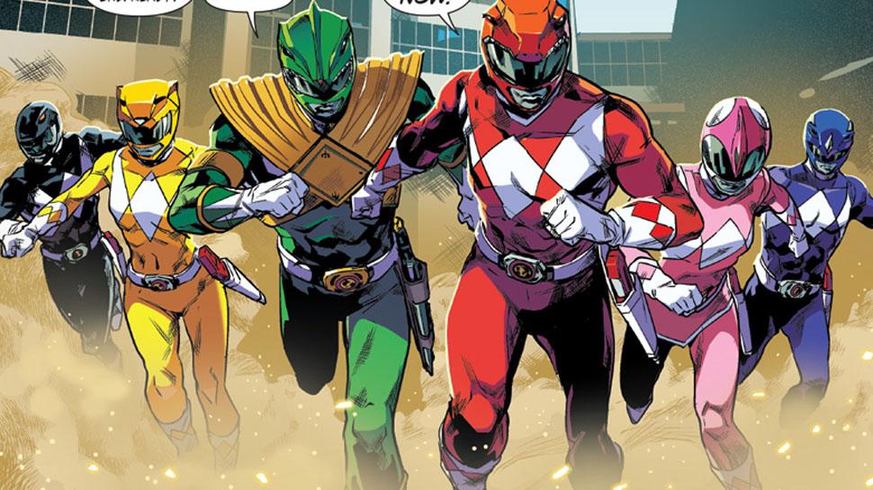 Mighty Morphin Power Rangers Comics