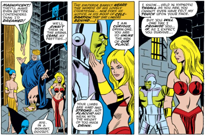 Hulk makes a lady friend