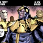 Where To Find Thanos & The Black Order (aka Children of Thanos) Comics!