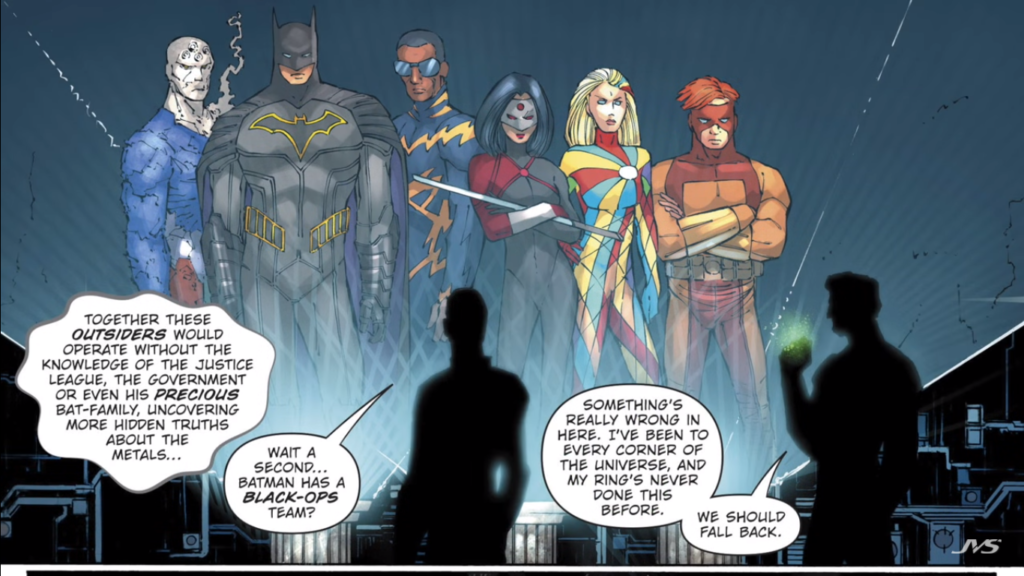 DC Rebirths Batman and the Outsiders