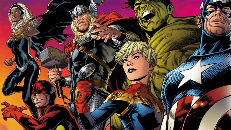 Marvel's Legacy in 2017