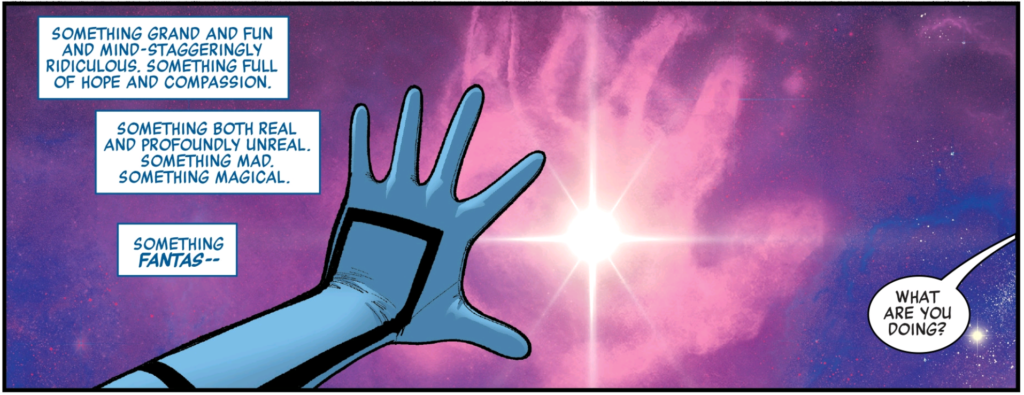 Valeria Richards teases Fantastic Four