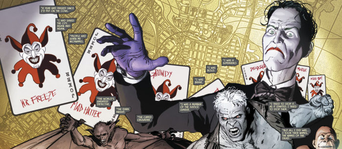 Batman in the Joker and Riddlers war