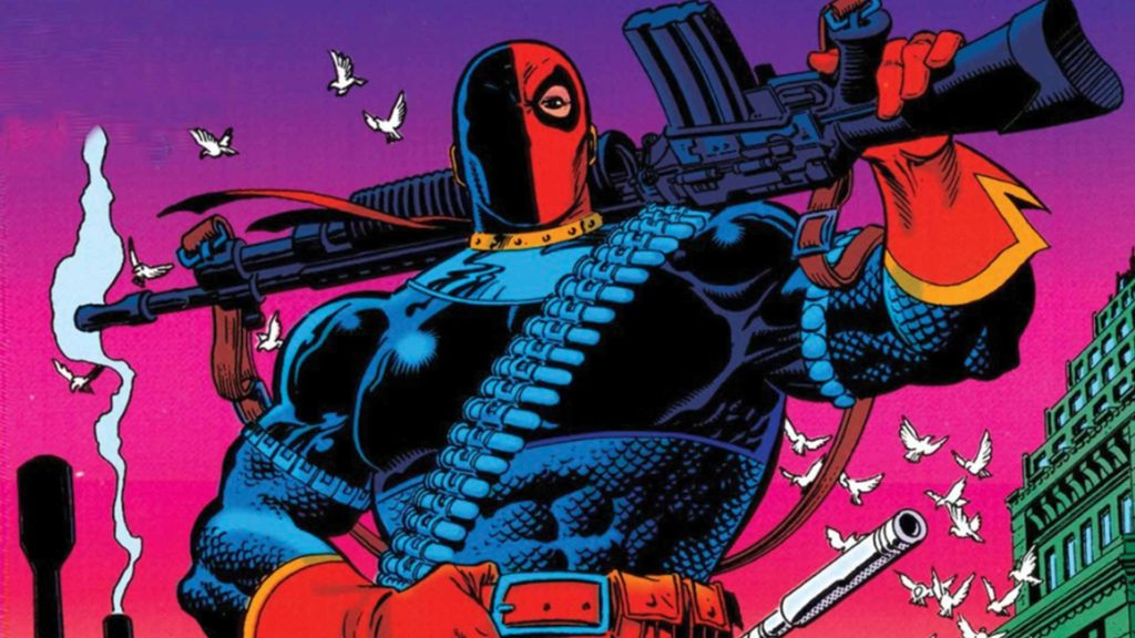 Deathstroke in his first ongoing solo comic