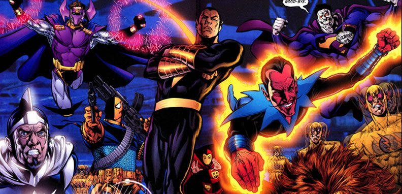 Deathstorke during DC's Infinite Crisis
