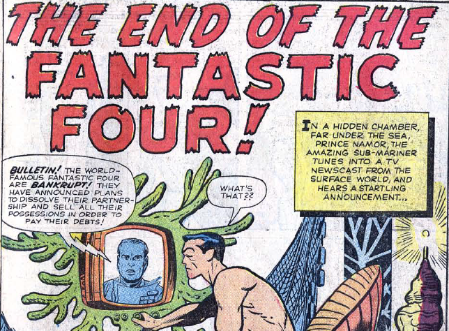 Stan Lee and Jack Kirbys Fantastic Four with Namor