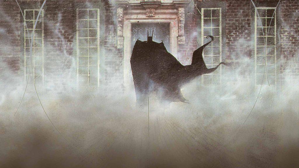 Grant Morrison's Arkham Asylum graphic novel starring Batman