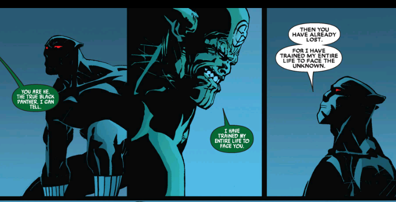 T Challa is Prepared for the Skrulls